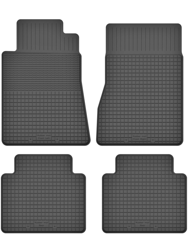 Mercedes S-Klasse W140 (1991-1998) universal gummimåttesæt