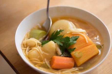 מרק ירקות פשוט וטעים