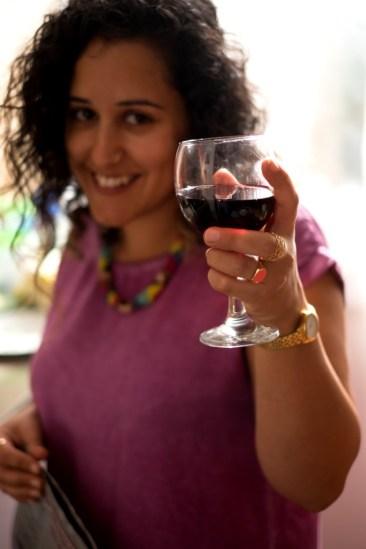 שתיית יין