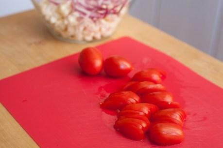 עגבניות פרוסות