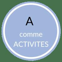 A comme Activités