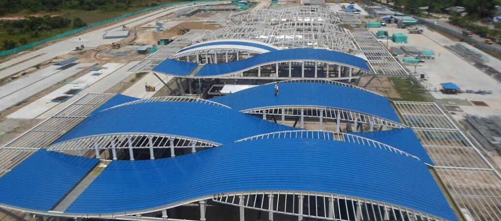 terminal pasajeros aeropuerto de Leticia