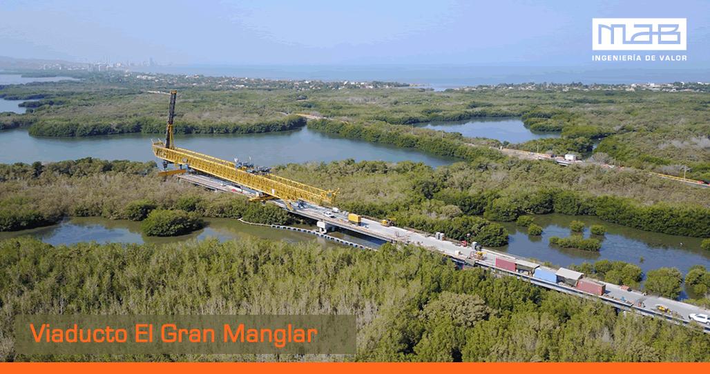 Interventoría: Viaducto El Gran Manglar con la más alta tecnología y calidad
