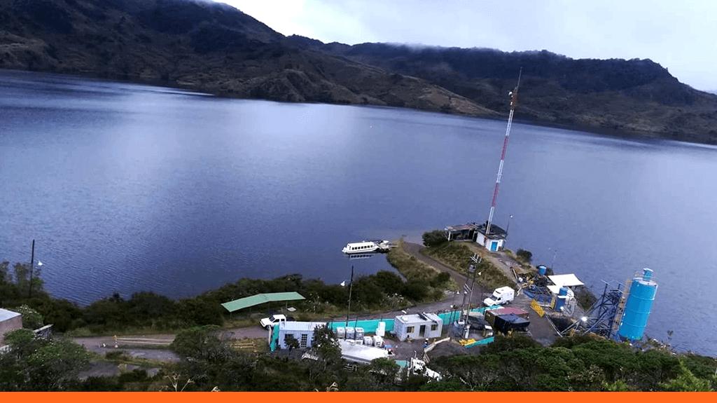 El sistema Chingaza abastece el embalse San Rafael