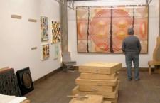 פתיחה חגיגית של גלריה לאמנות במבנה תעשיה