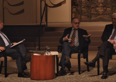 Alan Dershowitz and Dennis Prager in Dialogue with Rabbi David Woznica