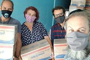 הקורונה מכה בעניי ברזיל: היהודים התגייסו לסייע מאת כנען ליפשיץ