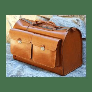 maleta grande, cuero, hecha a mano, maleta de viaje, maleta muestrarios, maleta de cuero