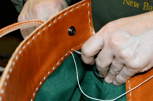 bolso, capazo, capacho, accesorios, cuero, piel, hecho a mano