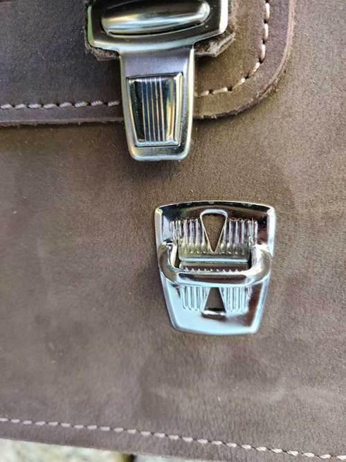 maletín de piel, cuero envejecido, portadocumentos