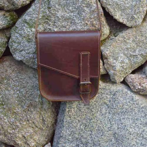 bolso, unisex, cuero, artesania, hecho a mano, bolso de cuero, bolso unisex
