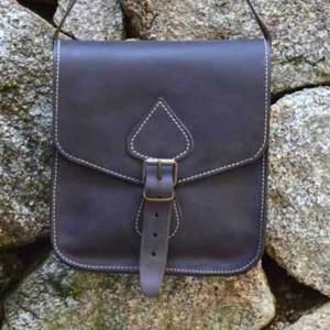 bolsos unisex, bolsos mujer, bolsos cuero, bolsos piel, unisex, artesania, hecho a mano, bolso para colgar