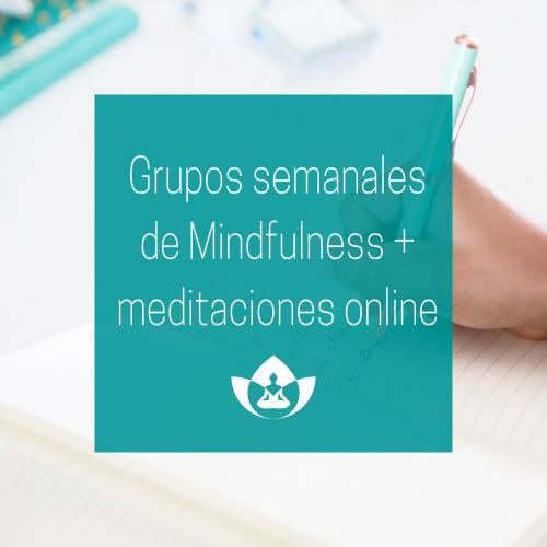 Grupos semanales de mindfulness