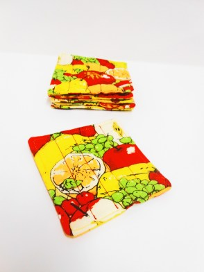 Fruit Salad Coasters