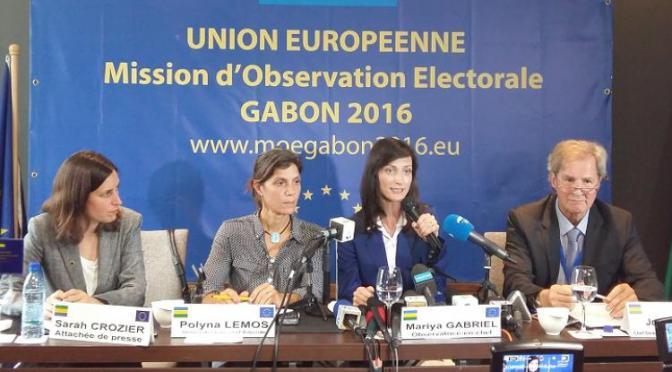 L'UE propose au Gabon «un dialogue politique intensifié» pour les futurs scrutins