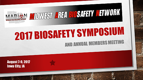 2017 Biosafety Symposium Ticket Header