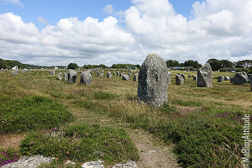 Les alignement de Carnac en Bretagne