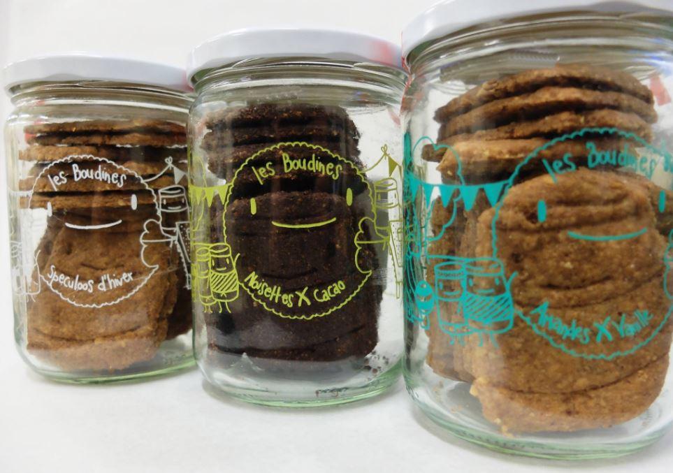 Les boudines, biscuits sains et gourmands sans gluten, lactose, oeuf et soja