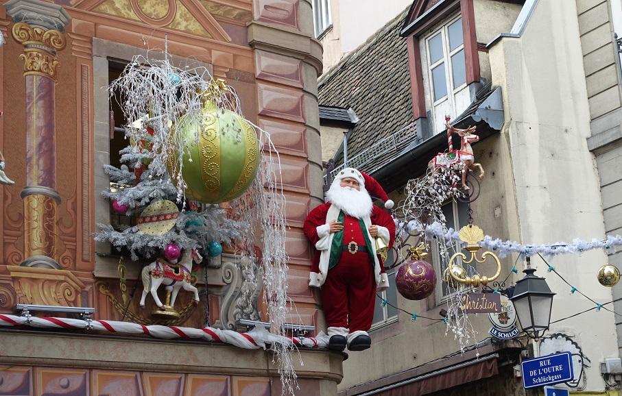 Rues de Strasbourg - marché de noël