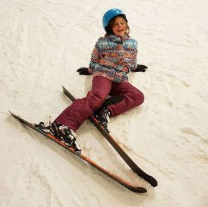 Skier au Ice Mountain avec l'ESF de Orcières Merlette