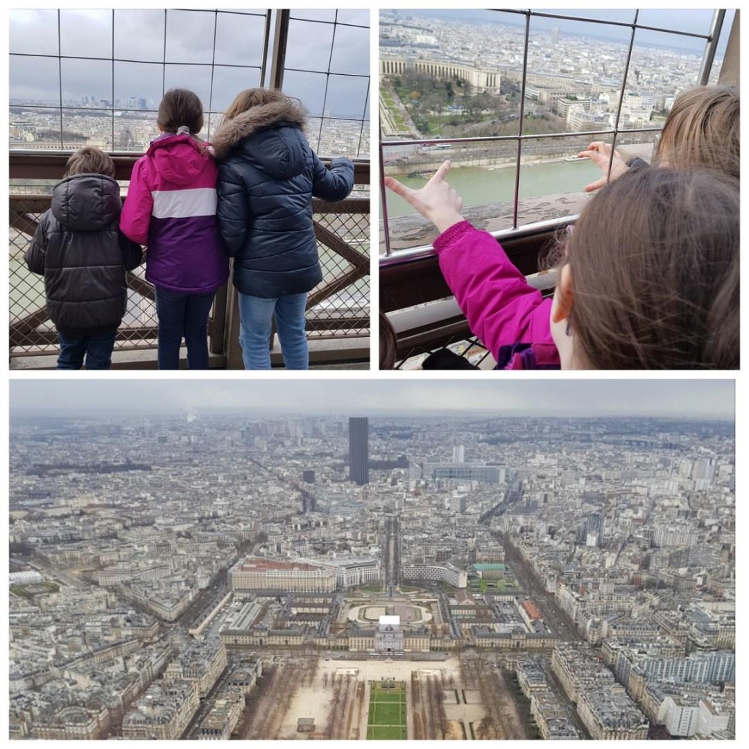 Un week-end à paris avec des enfants - Tour Eiffel
