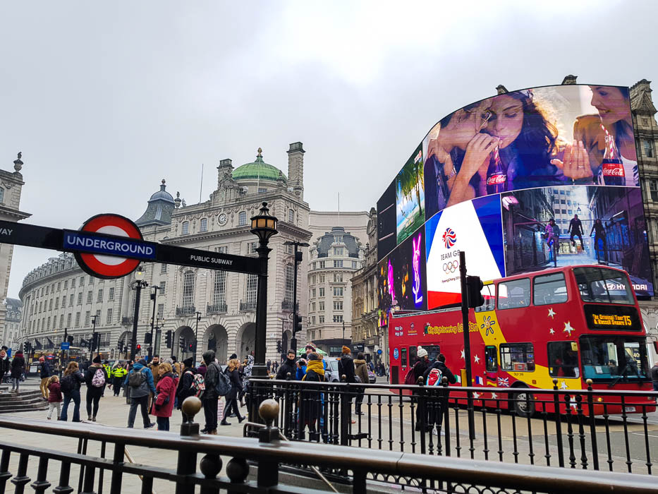 Voyage à Londres en famille