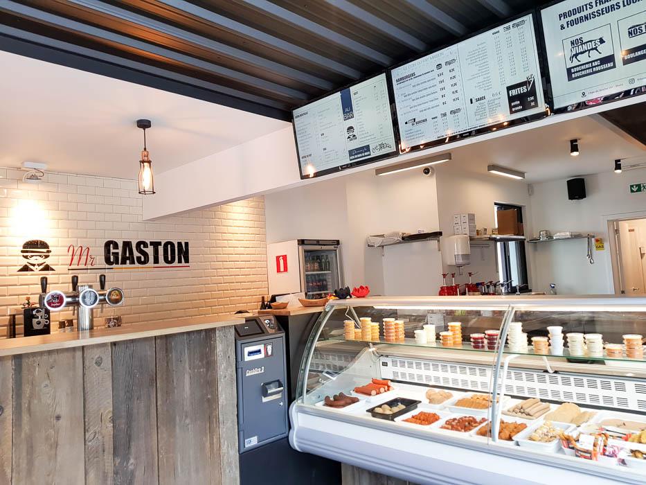 Mr Gaston : le nouveau concept burger friterie de Mons