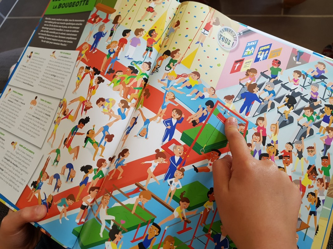 Découverte du livre jeunesse Le corps humain - Editions Fleurus