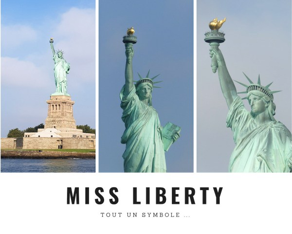 Miss Liberty, la statue de la liberté à New York