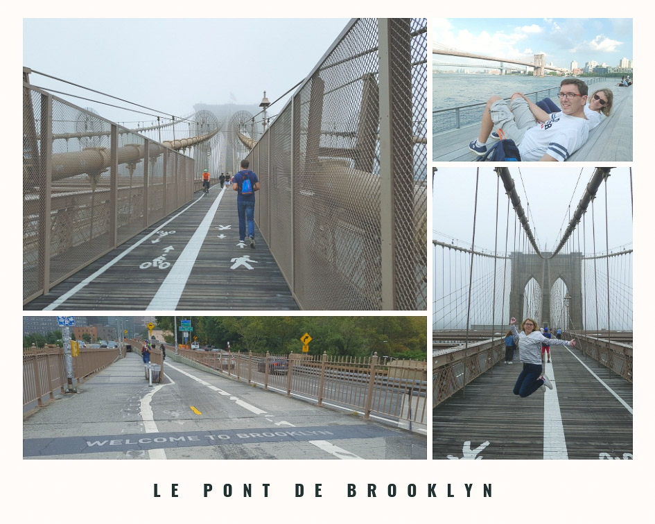Incontournables à New York - le pont de Brooklyn