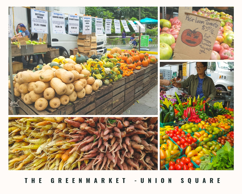 Incontournables à New York - The greenmarket