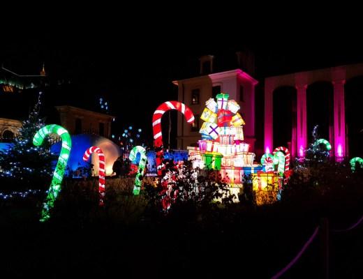 Marché de Noël de Metz - sentier des lanternes