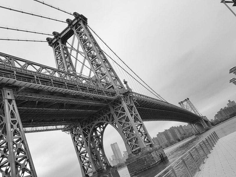 Pont de Manhattan - Dumbo et présentation de Brooklyn et du street art