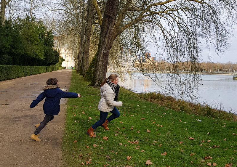 Le château de Fontainebleau en famille et visite des jardins
