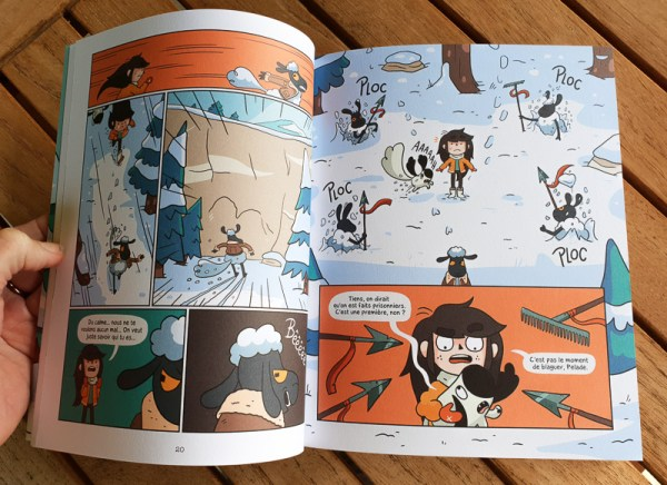 Sélection de BD Jeunesse : Aubépine - Editions Dupuis