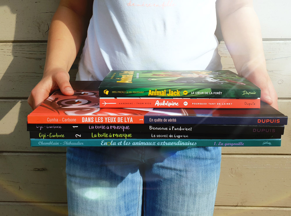 Sélection de bande dessinées jeunesse