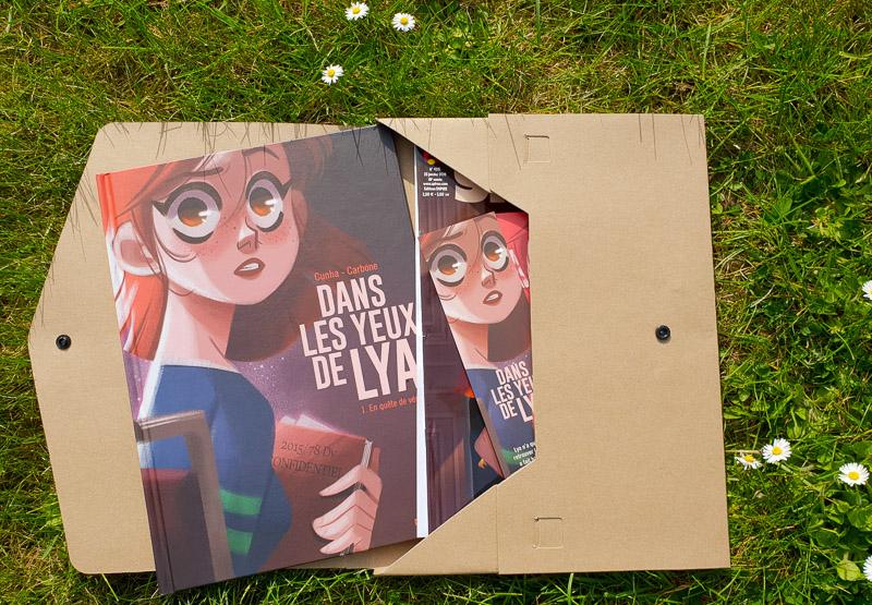 Sélection de BD Jeunesse : Dans les yeux de Lya - Editions Dupuis