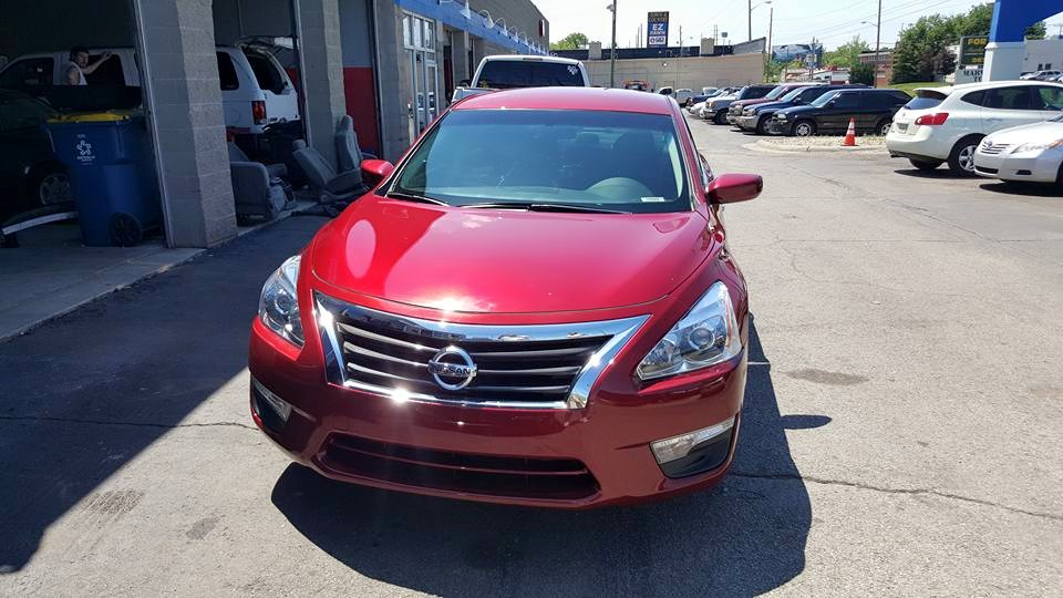 2014 Nissan Altima finished