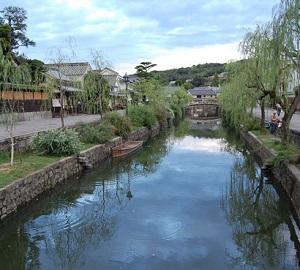 倉敷 クリーク 水路 市街地 岡山
