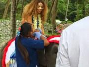 Beyonce, Jay Z & Blue Ivy Christmas