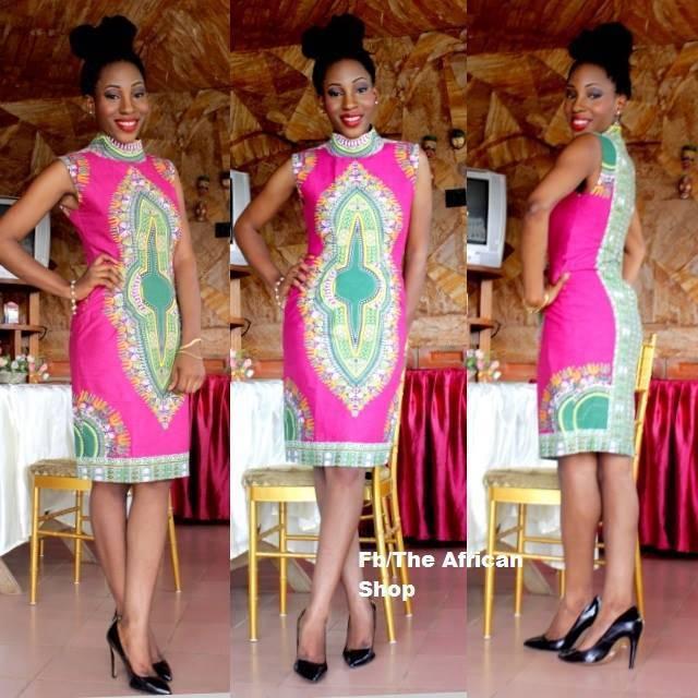 ankara gown (1)