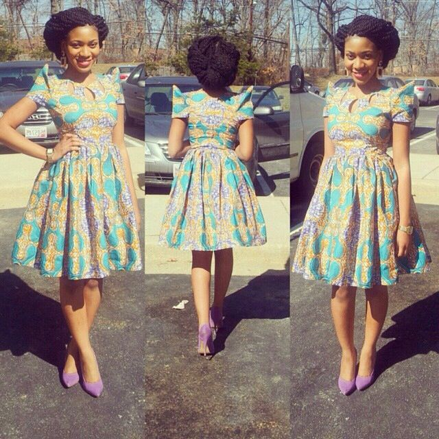 Most Adorable Short Ankara Gown Styles 2016