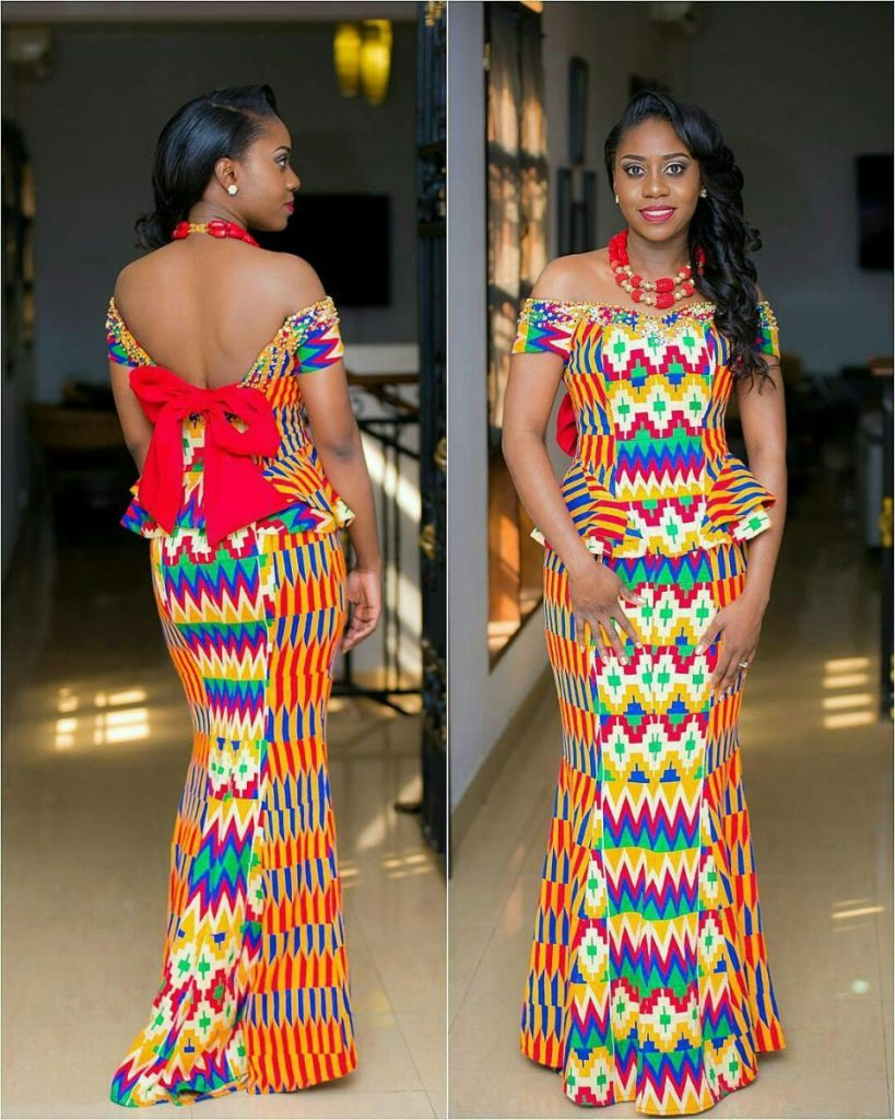Trending Ankara Styles For Wedding Occasion
