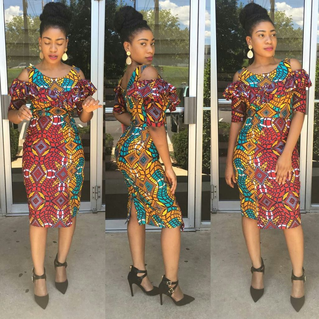 Get Chic In Ankara Gown For Beautiful Ladies 2017