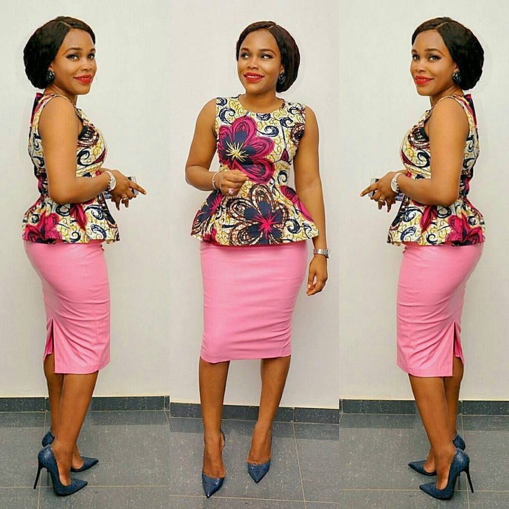 Different Ways To Rock Your Ankara Tops In Styles