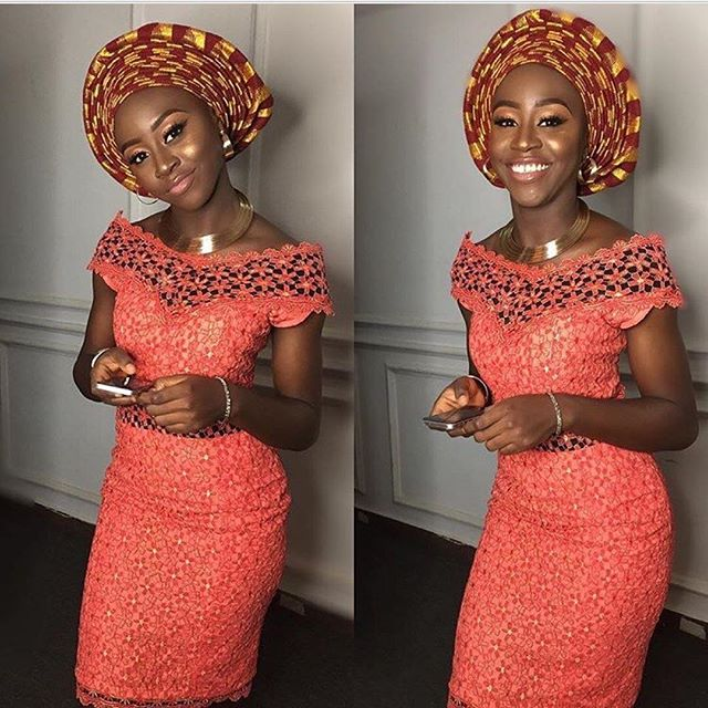 Aso Ebi Gown : Creative Lace Gown Styles for You