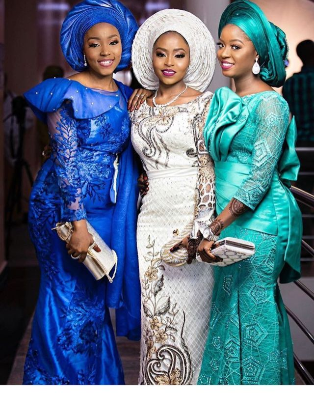 Latest Lace Styles 2017 For Owambe Guests To Blast