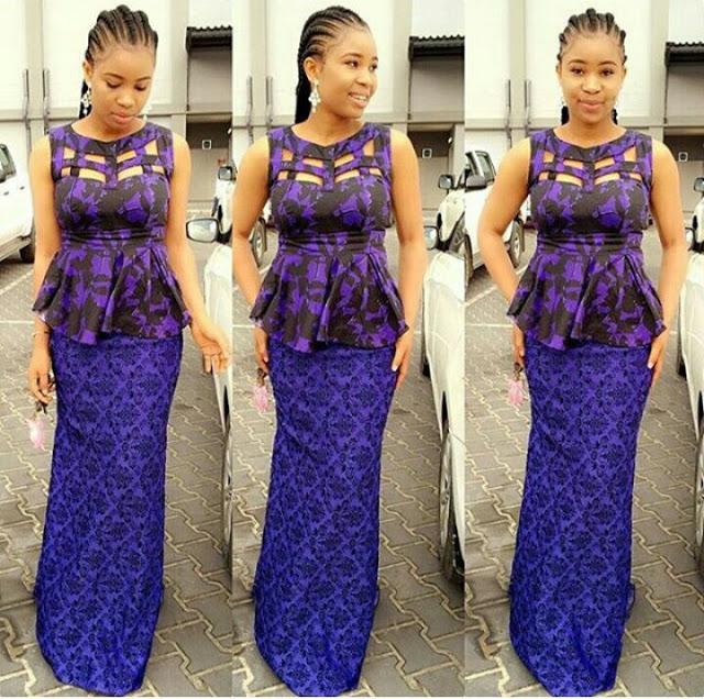 skirt and blouse ankara styles 2017 6