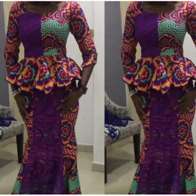 skirt and blouse ankara styles 2017 7