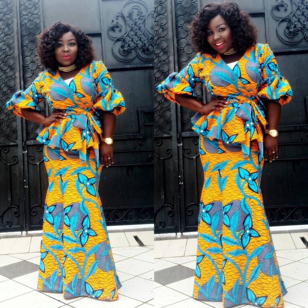 Ankara Skirt And Blouse Styles 2017 For Ladies